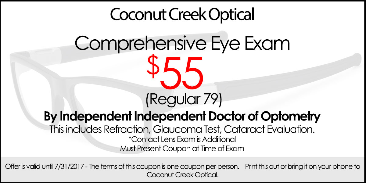 Discount Eye Exam Coupon